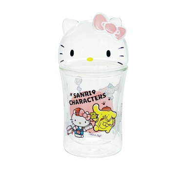 Hello KittyHello Kitty HELLO KITTY好朋友造型雙層杯