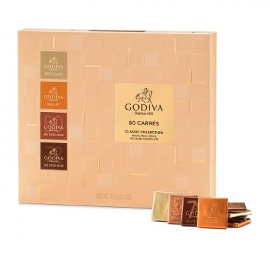 GodivaGodiva 片裝黑巧克力禮盒