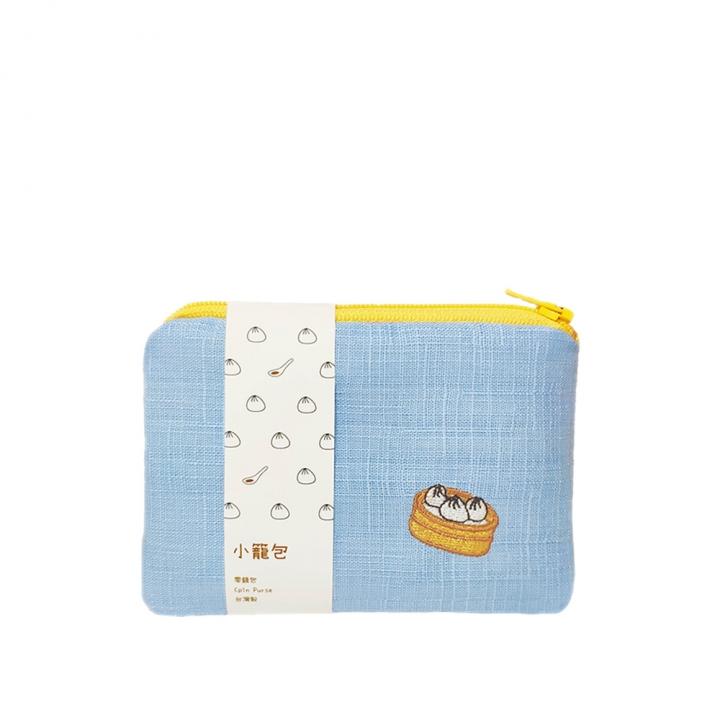 刺繡零錢包 小籠包