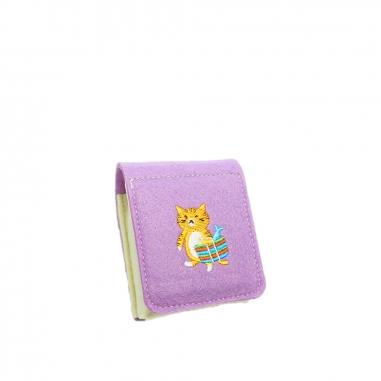 娜吉小物娜吉小物 刺繡小物盒 橘貓與茄芷袋