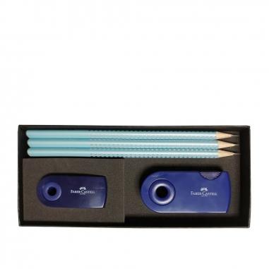 Faber-Castell輝柏 新三角點鑽石墨鉛筆組