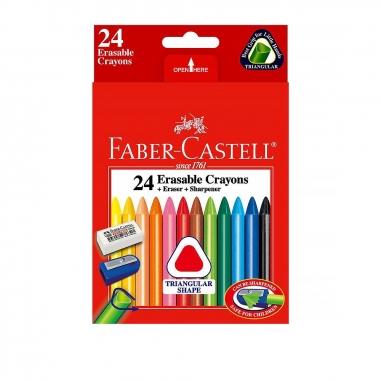 Faber-Castell輝柏 三角擦擦蠟筆
