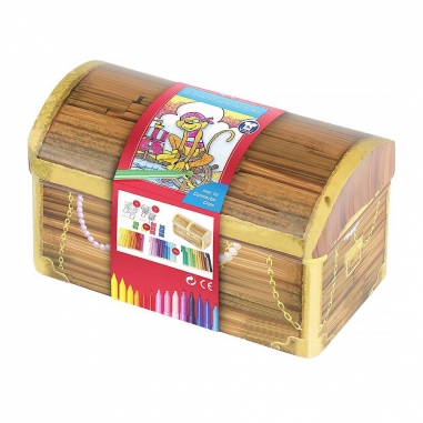 Faber-Castell輝柏 寶盒造型連接筆33色