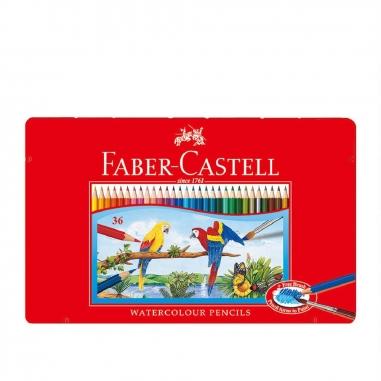 Faber-Castell輝柏 36色水彩色鉛筆(附水彩筆)