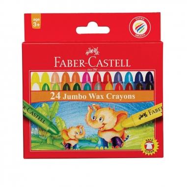 Faber-Castell輝柏 大象粗芯蠟筆