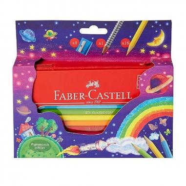 Faber-Castell輝柏 色鉛筆彩虹拉鍊包