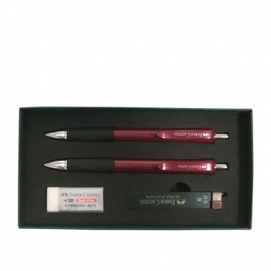 Faber-Castell輝柏 FABER禮盒組4件裝(紅色)