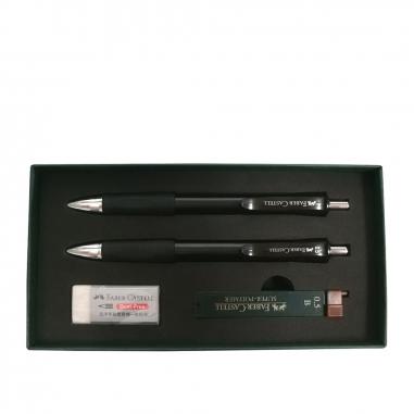 Faber-Castell輝柏 FABER禮盒組4件裝(黑色)