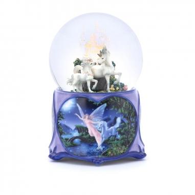 JARLL ART讚爾藝術 獨角馬城堡水晶球