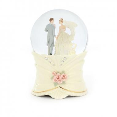 JARLL ART讚爾藝術 執子之手結婚水晶球