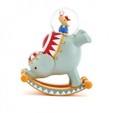 JARLL ART讚爾藝術 馬戲團大象搖動水晶球