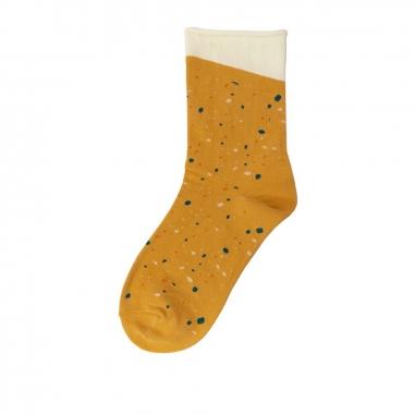 加拾加拾 下雨的路3/4襪 踩水
