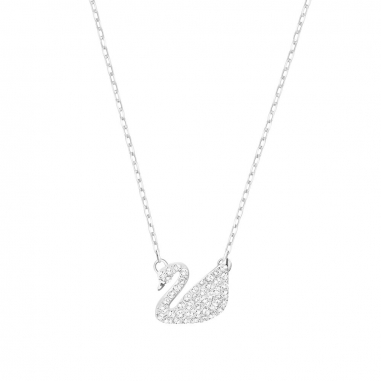 Swarovski施華洛世奇 Swan密鑲天鵝項鍊小