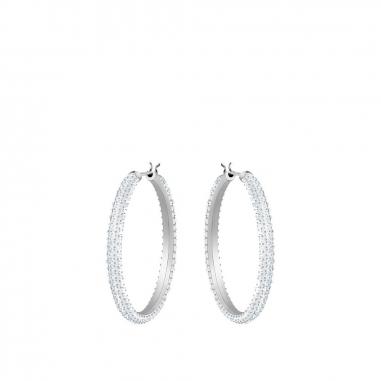 Swarovski施華洛世奇 Stone密鑲圈形耳環