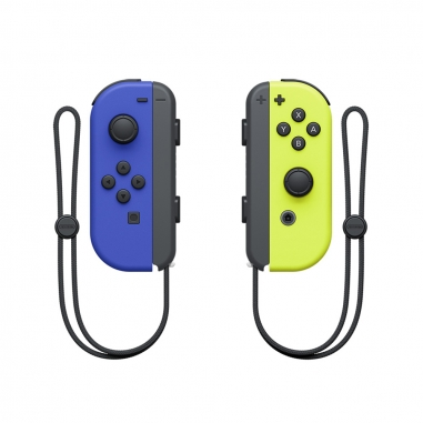 Nintendo任天堂 任天堂SWITCH JOY-CON 藍色/電光黃左右手把
