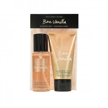 Victoria's Secret維多利亞的秘密 裸露香草系列 香氛身體護理旅行裝特惠組