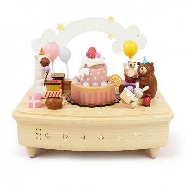 Jean Cultural知音文創 主題藍牙播放器-生日蛋糕