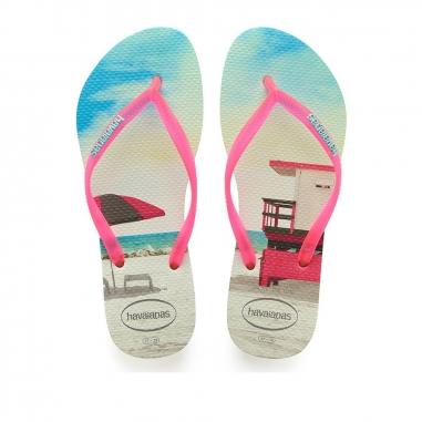 Havaianas哈瓦仕 SLIM PAISAGE 夾腳拖鞋