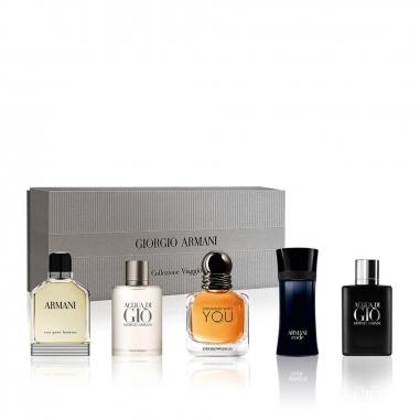 Giorgio Armani亞曼尼 男士迷你香水禮盒特惠組