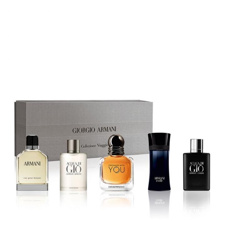 Giorgio Armani Men Miniatures Collection男士迷你香水禮盒特惠組