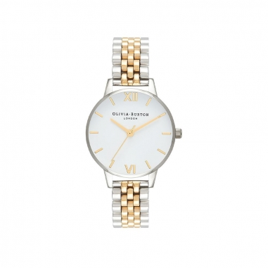 Olivia BurtonOlivia Burton White Dial Bracelet手錶