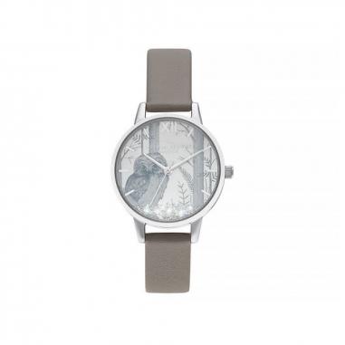 Olivia BurtonOlivia Burton Snowglobe手錶
