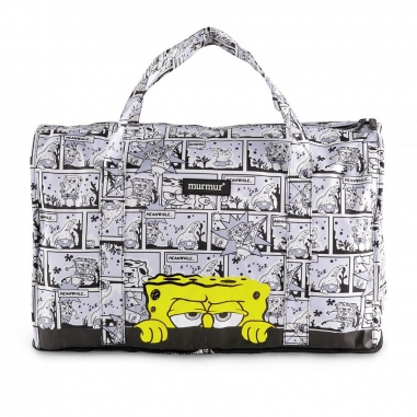 murmurmurmur 海綿寶寶漫畫旅行袋-大