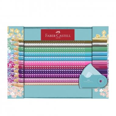 Faber-Castell輝柏 三角點鑽色鉛筆禮盒組20色