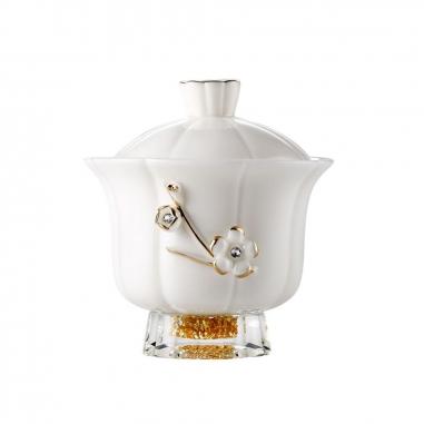 SHARLIFE阿法瓷 負離子女仕蓋碗杯