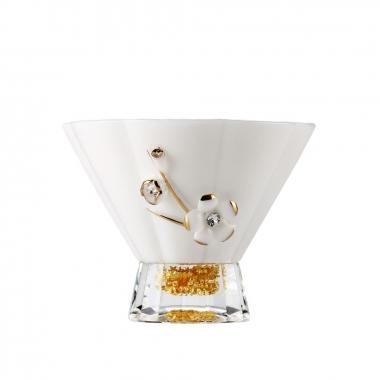 SHARLIFE阿法瓷 貝殼花負離子茶杯