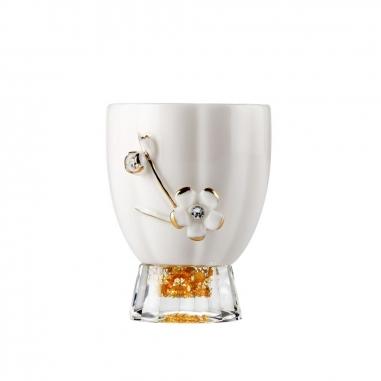 SHARLIFE阿法瓷 鬱金香負離子茶杯