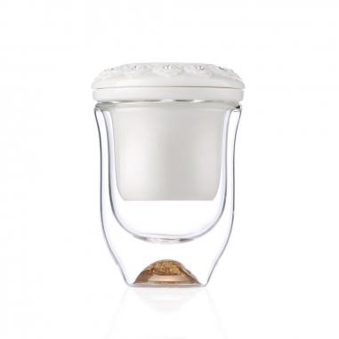 SHARLIFE阿法瓷 負離子雙層隔熱杯