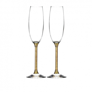 SHARLIFE阿法瓷 水晶香檳杯