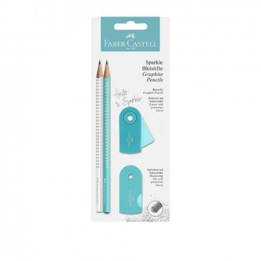 Faber-Castell輝柏 三角點鑽石墨鉛筆組_X已綁成組合商品