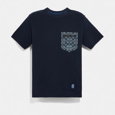 Coach蔻馳(精品) 男性T恤