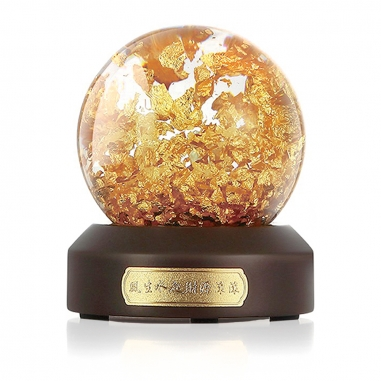 SHARLIFE阿法瓷 財源滾滾金箔球