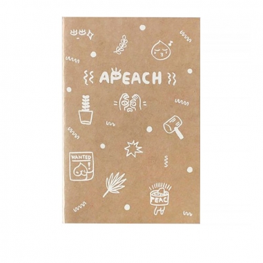 kakao friendskakao friends 牛皮紙筆記本-APEACH