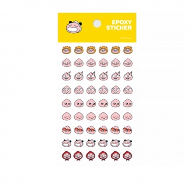 kakao friendskakao friends pvc透明表情貼紙-APEACH