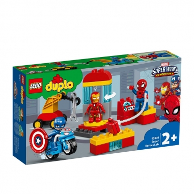 LEGO樂高 LEGO 10921 得寶系列 超級英雄實驗室