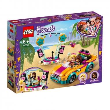 LEGO樂高 LEGO 41390  Friends系列 安德里亞汽車舞台