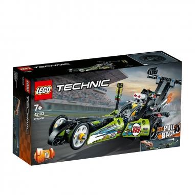 LEGO樂高 LEGO 42103 TECHNIC系列 直線加速賽車