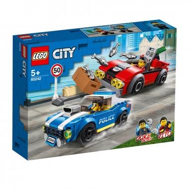 LEGO樂高 LEGO警察高速公路追捕戰