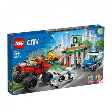 LEGO樂高 LEGO警察巨輪卡車搶案