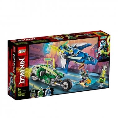 LEGO樂高 LEGO阿光和勞埃德競速車
