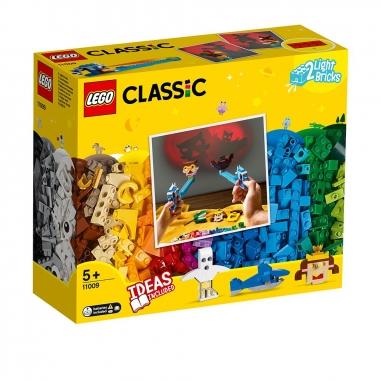 LEGO樂高 LEGO 11009 經典系列 顆粒與燈光