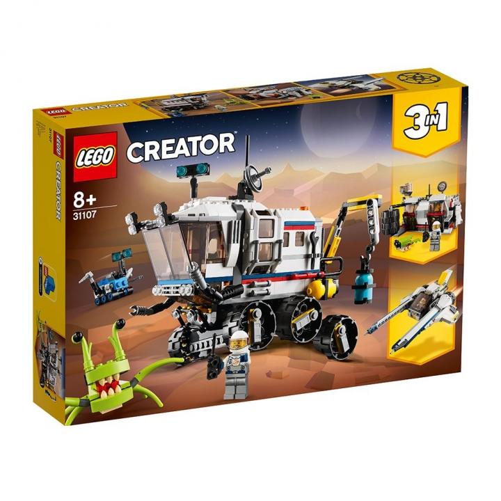 LEGO太空探測車
