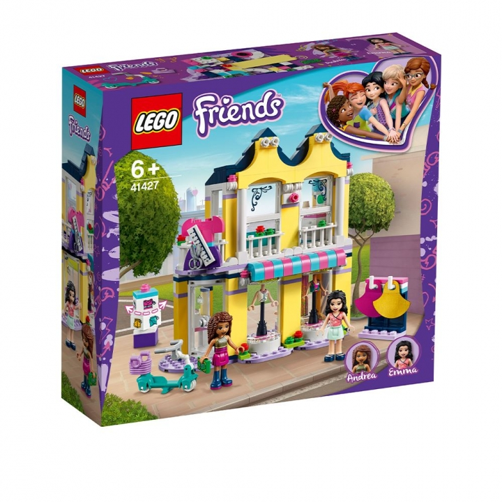 LEGO艾瑪時裝店