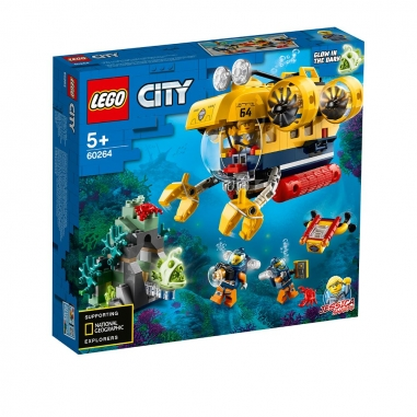 LEGO樂高 LEGO 60264 城市系列 海洋探索潛水艇
