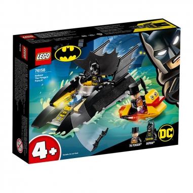LEGO樂高 LEGO蝙蝠船企鵝追擊