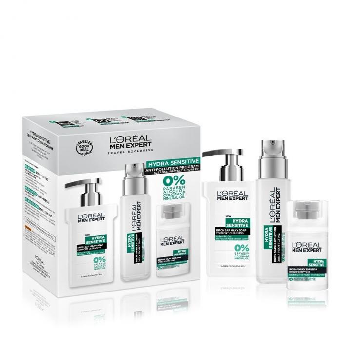 HYDRA SENSITIVE ROUTINE SET男士舒潤強膚系列強韌潤膚特惠組